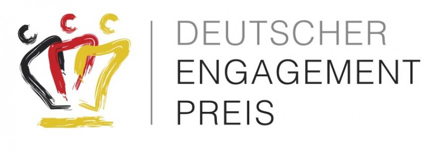Logo Deutscher Engagementpreis 2021