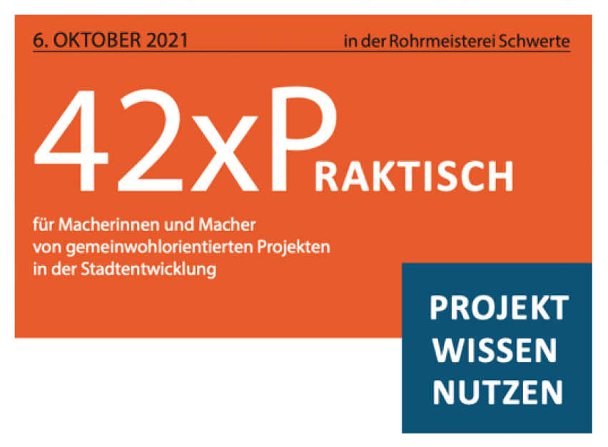 42 X Praktisch – Projekt Wissen Nutzen – vorgestellt bei bring-together