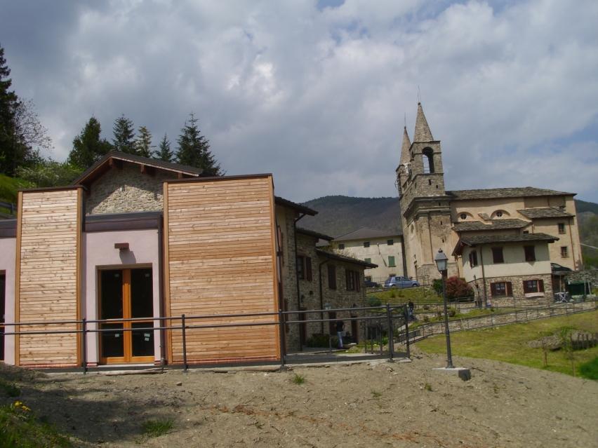 Foto: Le case di Tiedoli
