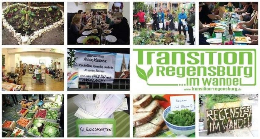 Transition Town Regensburg. Flyer