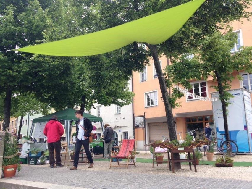 Transition Town Regensburg. Begegnungsstätte im öffentlichen Raum