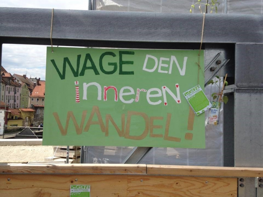 Transition Town Regensburg. Wage den inneren Wandel