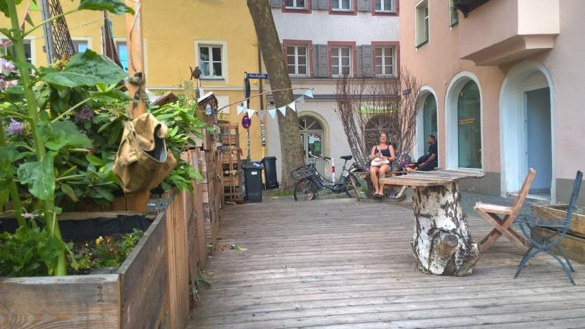 Transition Town Regensburg. Café