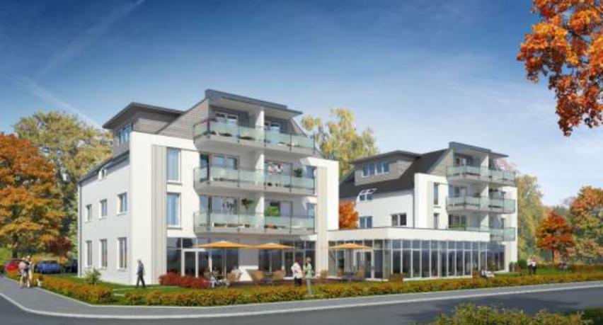 Das Mehrgenerationen-Wohnprojekt »Sonnenhügel« – Entwurfsskizze