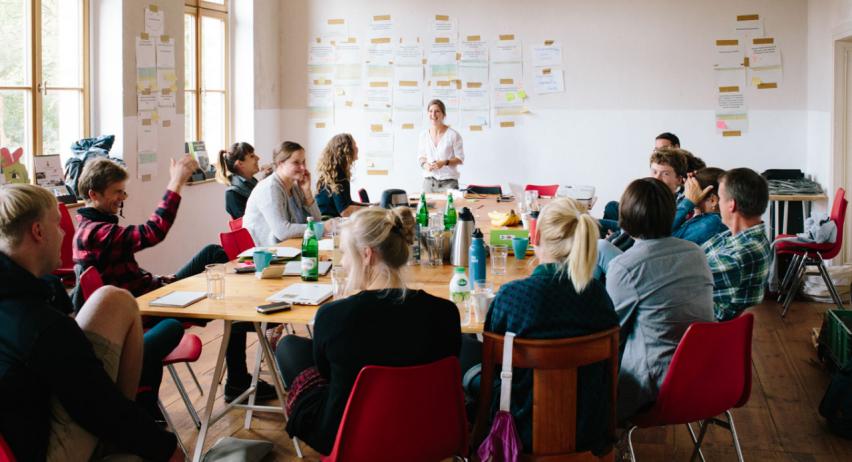 Lebenskonzept Zukunftsorte Belebung ländlicher Raum Brandenburg - vorgestellt auf bring-together