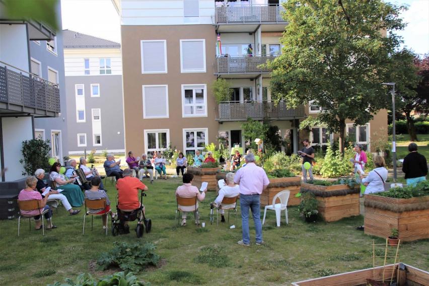 Lebenskonzept Nachbarschaftliche Gemeinschaft – bring-together
