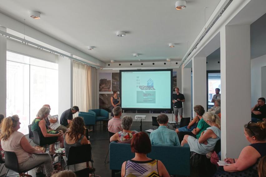 Veranstaltungen gemeinnnütziger Verein Weiterwohnen für innovative Wohnbauprojekte – vorgestellt bei bring-together