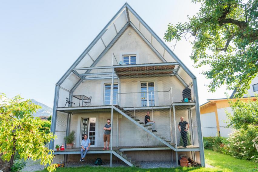 Die Villa Fleisch in Dornbirn Vorarlberg – ein Projekt des Vereins Weiterwohnen für innovative Wohnbauprojekte – vorgestellt bei bring-together