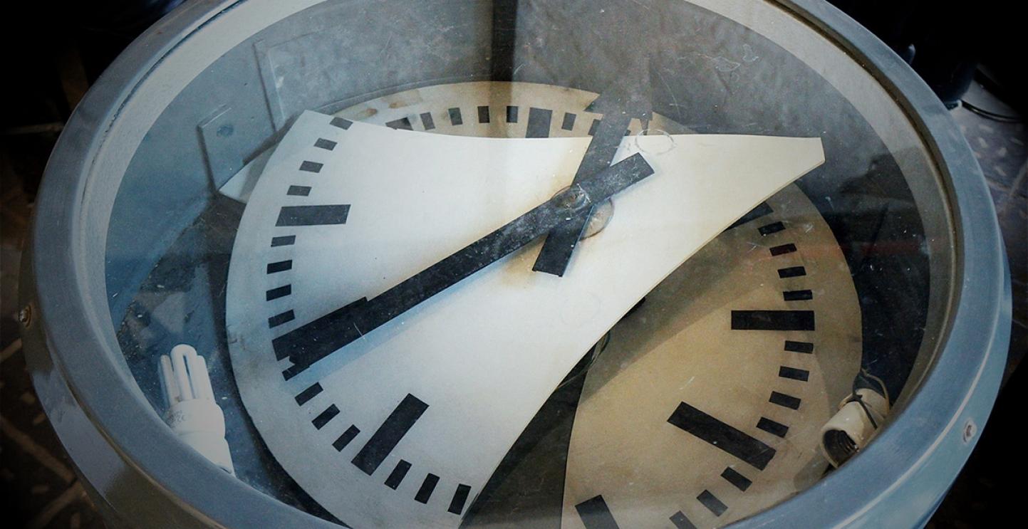 Gestundete Würde. Zeitmangel ist heutzutage ein generelles Problem. Nils Müller