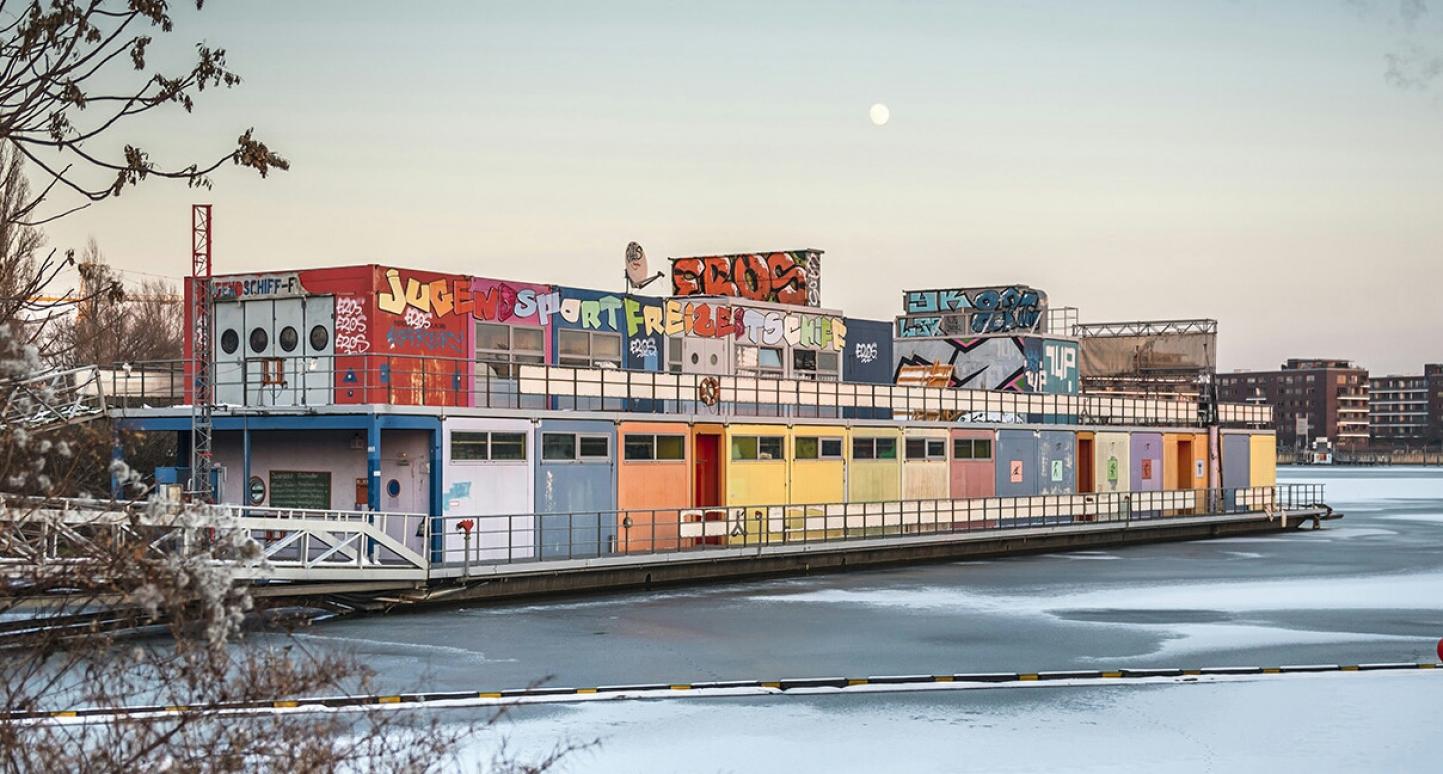 Station AuGe: Forschungsstation für Autarkie & Gemeinschaftlichkeit in der Rummelsburger Bucht Berlin | Foto: Markus Ibrom