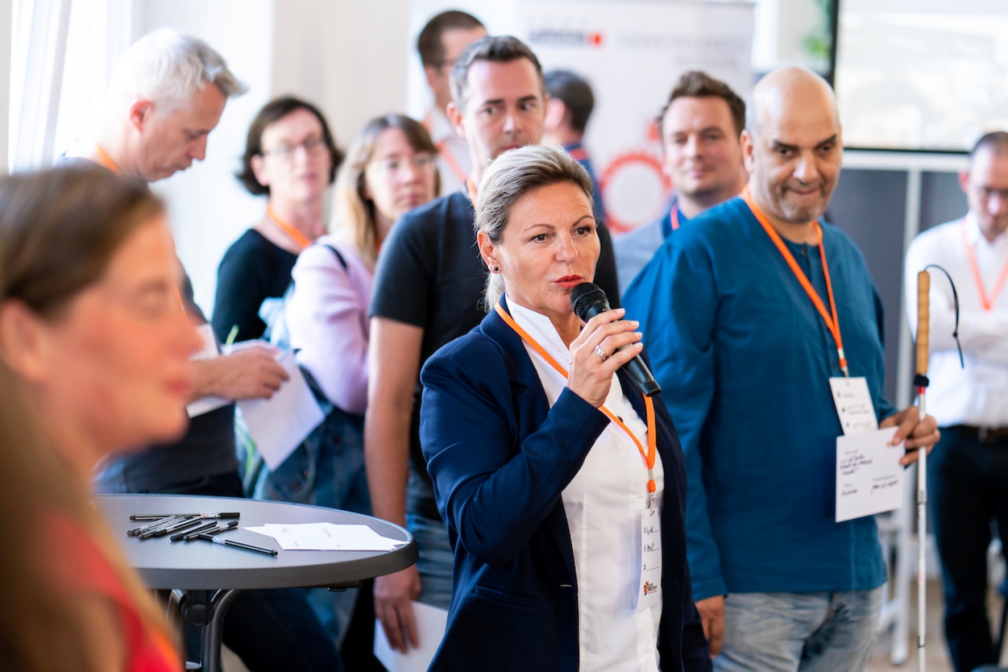 bring-together beim opentransfer Camp 2018
