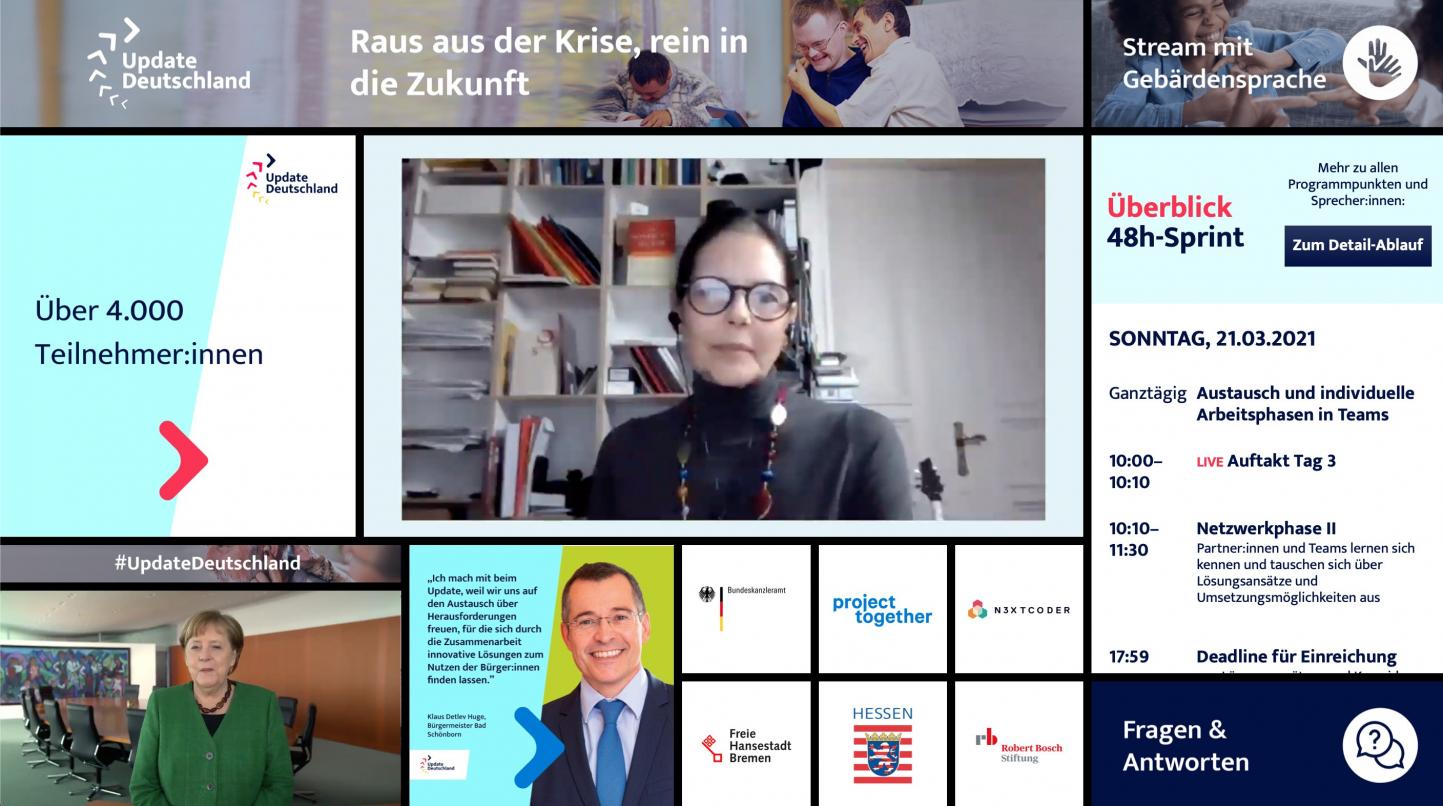UpdateDeutschland 48h-Sprint Gesundheit und Wohlbefinden Einsamkeit im Alter