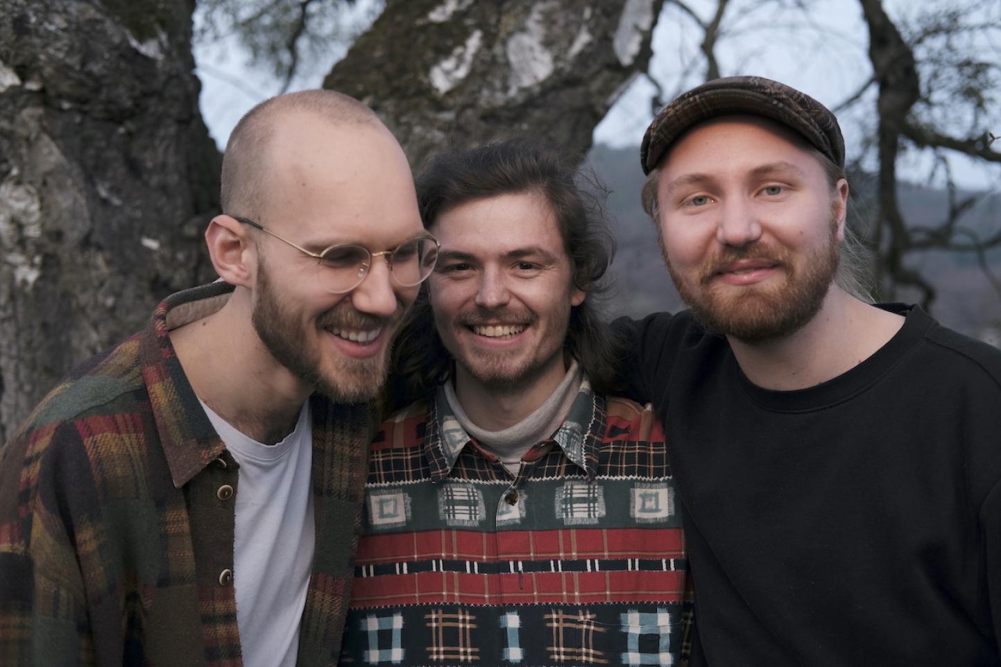 Lewin, Joscha und Patrick von Machland