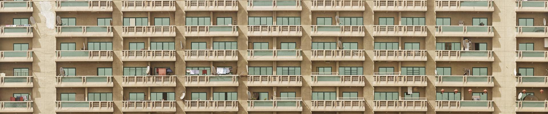 gemeinschaftlich Leben im Wohnblock