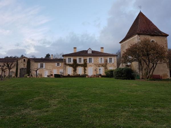 In einer der schönsten Gegenden in Südwestfrankreich wohnen