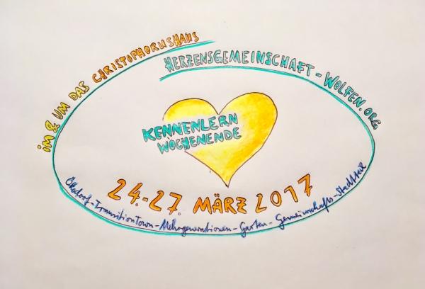 Herzensgemeinschaft-Wolfen Kennlernwochenende im März