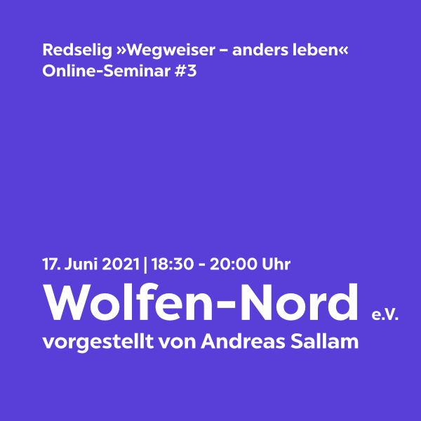 Redselig #3: Wolfen-Nord e.V. mit Andreas Sallam