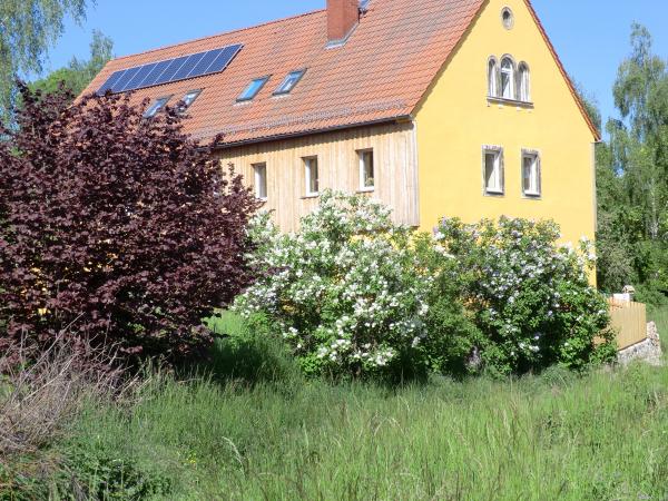 Wohnen auf dem Land  in altem Bauerngut in Mügeln/Sachsen