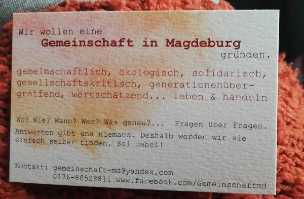 MagdeDorf - Ökodorf in der Stadt, ehemals Gemeinschaft MD