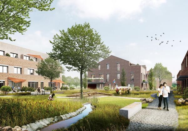 """Gemeinschaftliches Wohnprojekt """"Am Krögen"""" Bargteheide"""