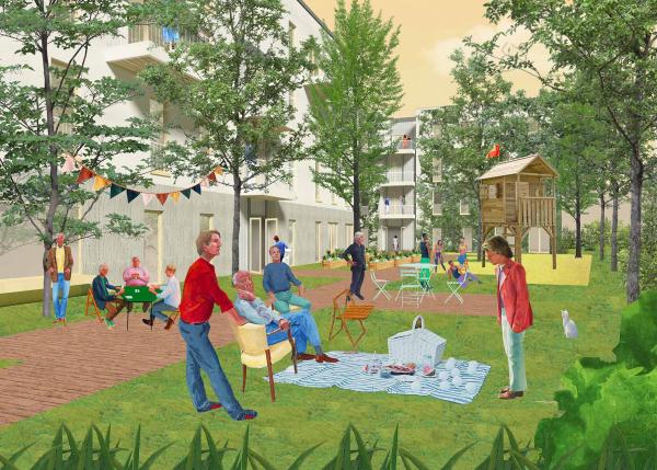 Genossenschaftliches Wohnprojekt Buckower Felder