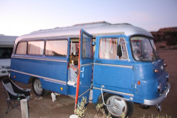 Privater Stellplatz für Langzeitreisende mit Wohnmobil