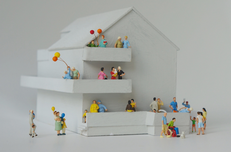 Findest Du in Deiner Nähe passende Wohnprojekte und Gemeinschaften?